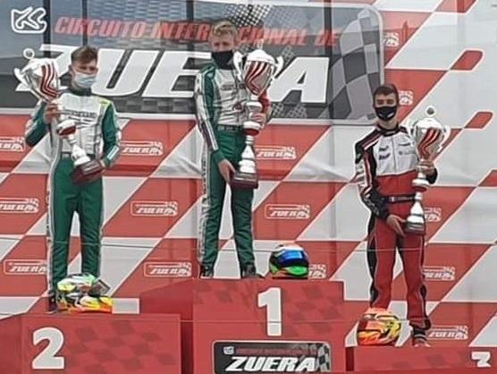 Magnifique podium pour E.Lacreuse à Zuera